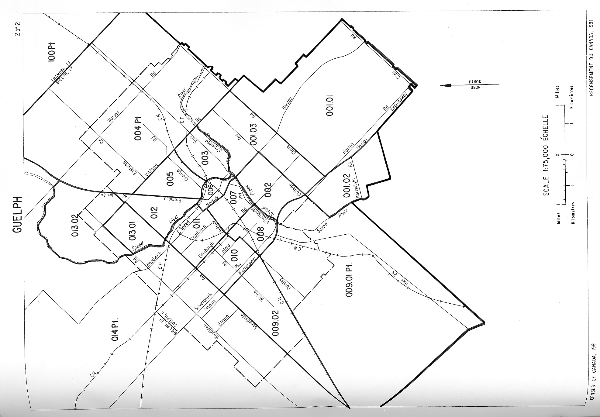 Guelph Ontario Map Images - Guelph map