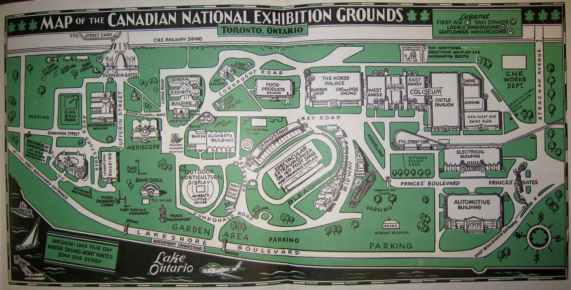 Fort York and Garrison Common Maps: [1906, 1921, 1928 ...