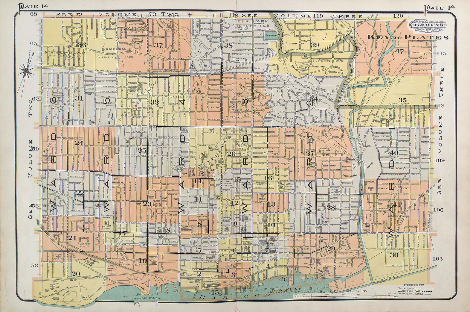 Goad S Atlas Of The City Of Toronto Fire Insurance Maps From The