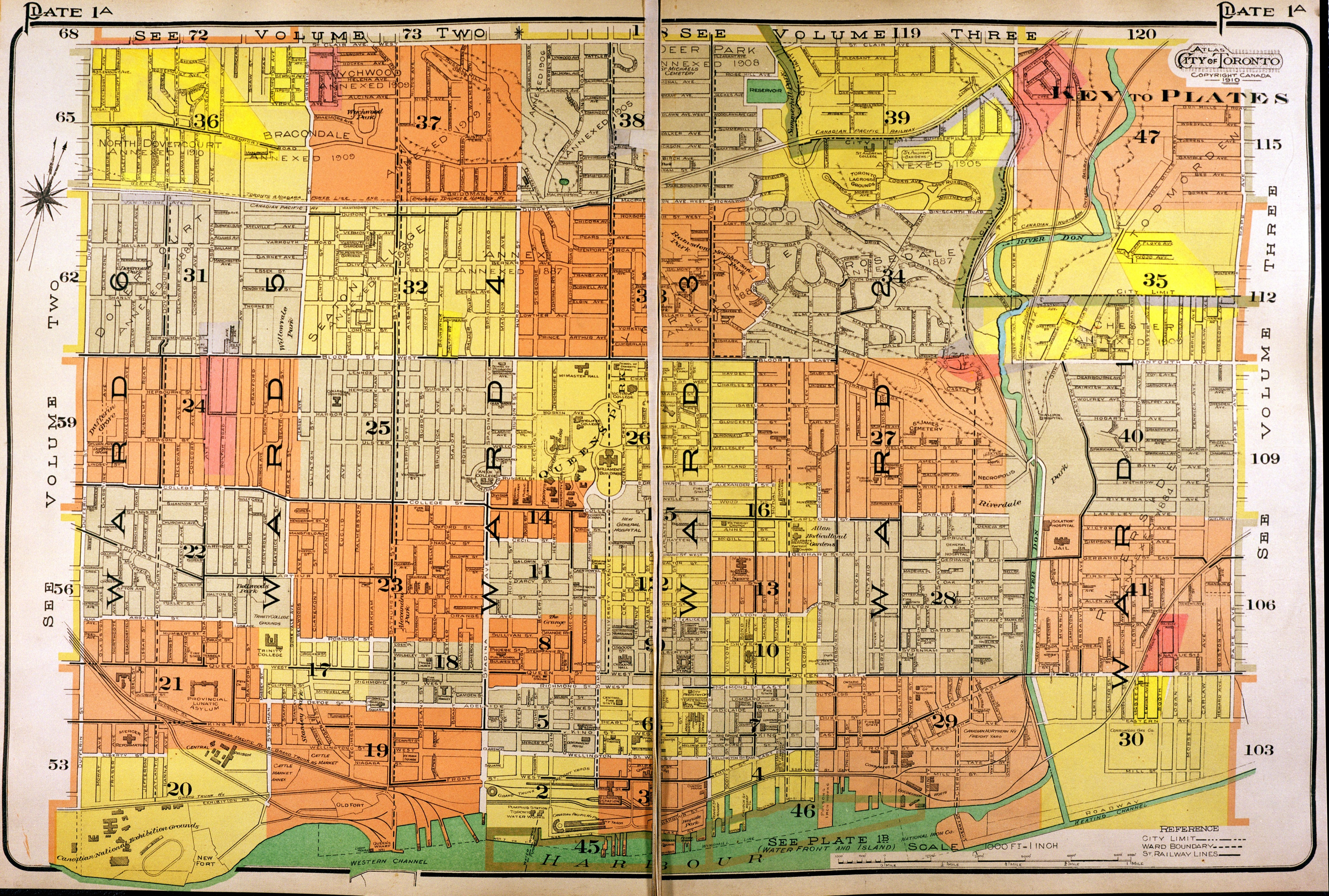 Goad\'s Atlas of the City of Toronto: Fire Insurance Maps from the ...