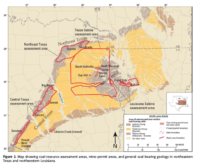 geologic assessment of coal in the gulf of mexico coastal plain 2011