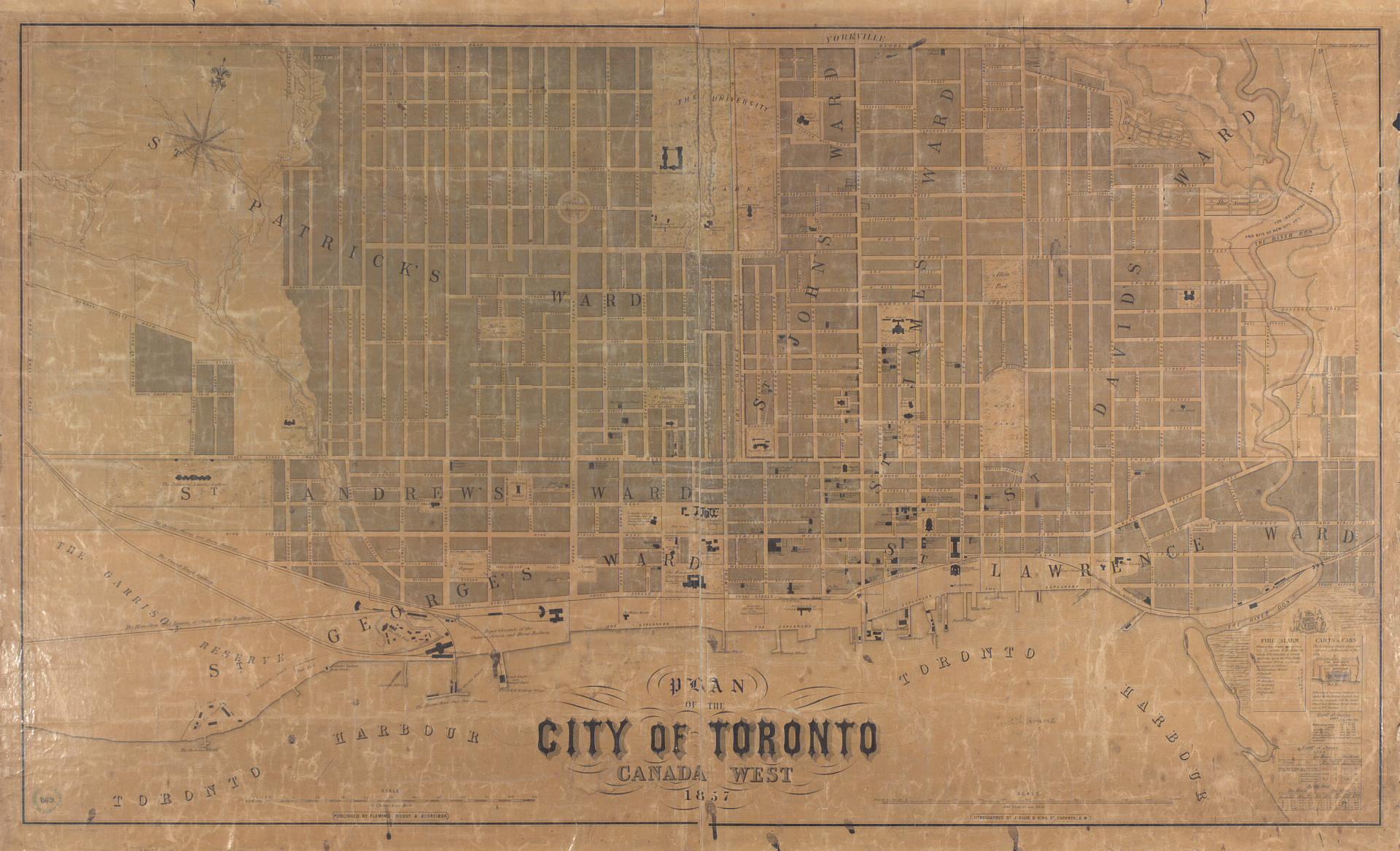 University Of Toronto Map Library HGIS workshop material by Marcel Fortin, University of Toronto Map